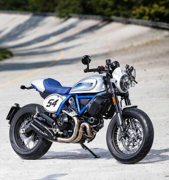 2019 Ducati Scrambler Cafe Racer for sale at Peninsula Motor Vehicle Group in Oakville Ontario NY