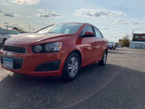 2012 Chevrolet Sonic for sale at Auto Tech Car Sales and Leasing in Saint Paul MN
