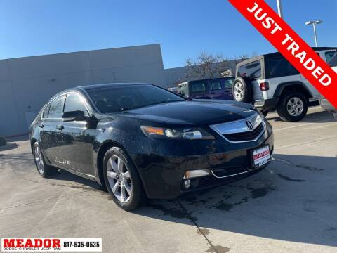 2013 Acura TL for sale at Meador Dodge Chrysler Jeep RAM in Fort Worth TX