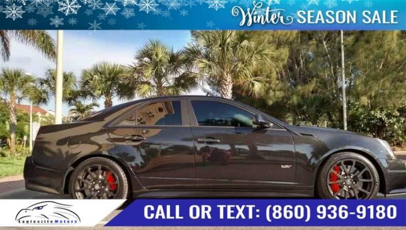 2012 Cadillac CTS-V for sale at EAGLEVILLE MOTORS LLC in Storrs CT