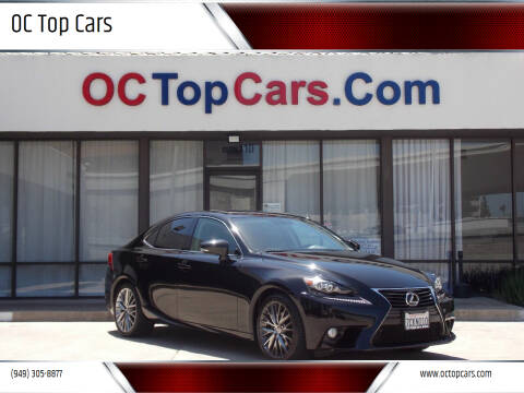 2014 Lexus IS 250 for sale at OC Top Cars in Irvine CA