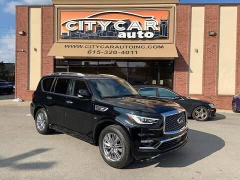 2019 Infiniti QX80 for sale at CITY CAR AUTO INC in Nashville TN