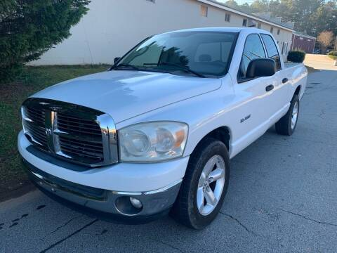 2008 Dodge Ram Pickup 1500 for sale at CAR STOP INC in Duluth GA