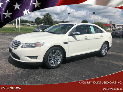 2010 Ford Taurus for sale at Ancil Reynolds Used Cars Inc. in Campbellsville KY