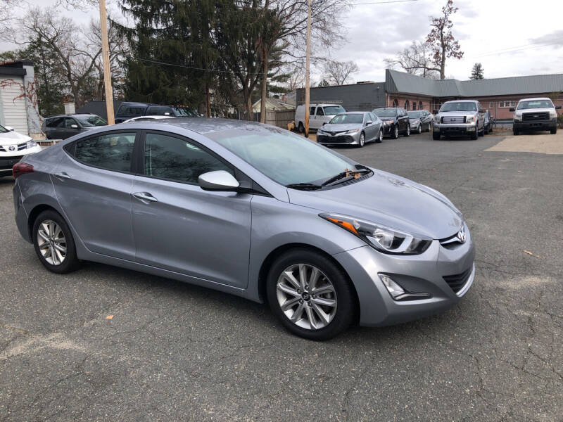 2016 Hyundai Elantra for sale at Chris Auto Sales in Springfield MA
