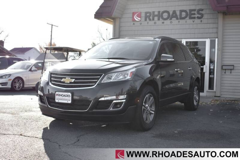 2017 Chevrolet Traverse for sale at Rhoades Automotive in Columbia City IN