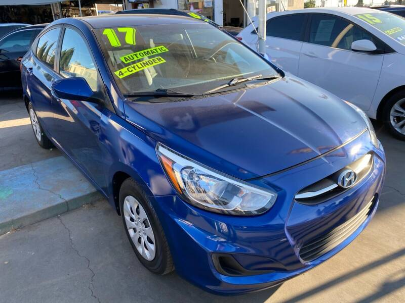 2017 Hyundai Accent for sale at CAR GENERATION CENTER, INC. in Los Angeles CA