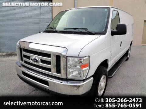 2014 Ford E-Series Cargo for sale at Selective Motor Cars in Miami FL