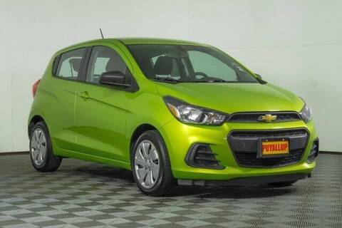 2016 Chevrolet Spark for sale at Washington Auto Credit in Puyallup WA