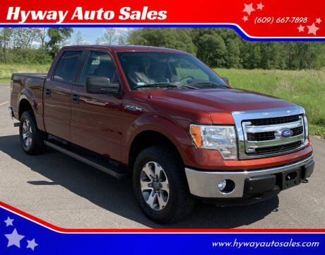 2014 Ford F-150 for sale at Hyway Auto Sales in Lumberton NJ