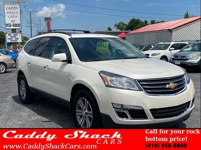 2015 Chevrolet Traverse for sale at CADDY SHACK CARS in Edgewater MD