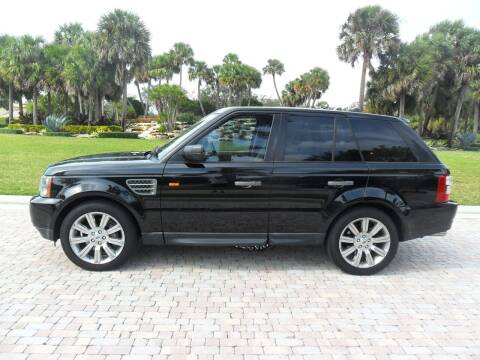 2008 Land Rover Range Rover Sport for sale at AUTO HOUSE FLORIDA in Pompano Beach FL