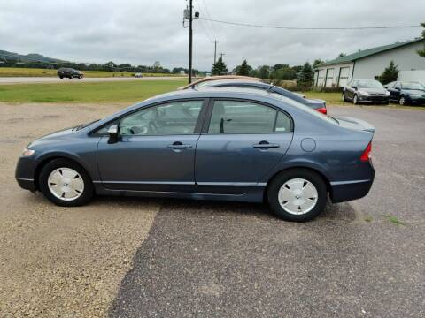 2008 Honda Civic for sale at SCENIC SALES LLC in Arena WI