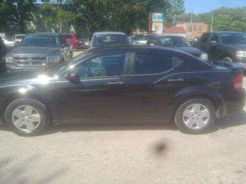 2008 Dodge Avenger for sale at D & D Auto Sales in Topeka KS