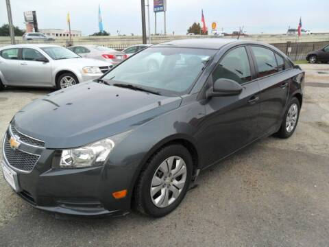 2013 Chevrolet Cruze for sale at Talisman Motor City in Houston TX