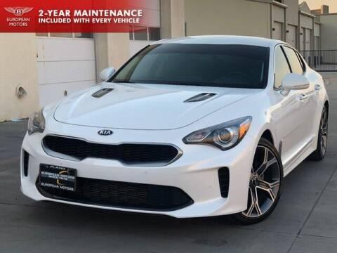 2018 Kia Stinger for sale at European Motors Inc in Plano TX