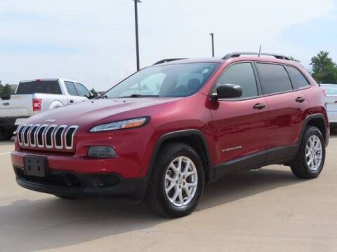 2016 Jeep Cherokee for sale at BIG STAR HYUNDAI in Houston TX