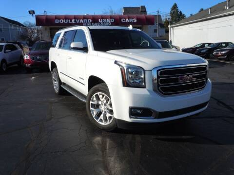 2017 GMC Yukon for sale at Boulevard Used Cars in Grand Haven MI