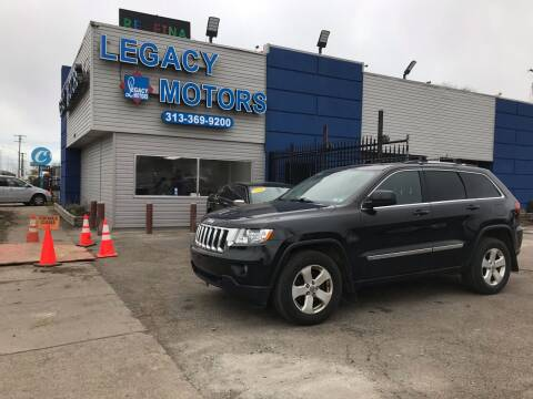 2013 Jeep Grand Cherokee for sale at Legacy Motors in Detroit MI