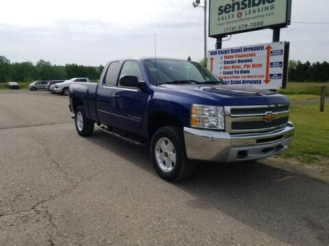2013 Chevrolet Silverado 1500 for sale at Sensible Sales & Leasing in Fredonia NY