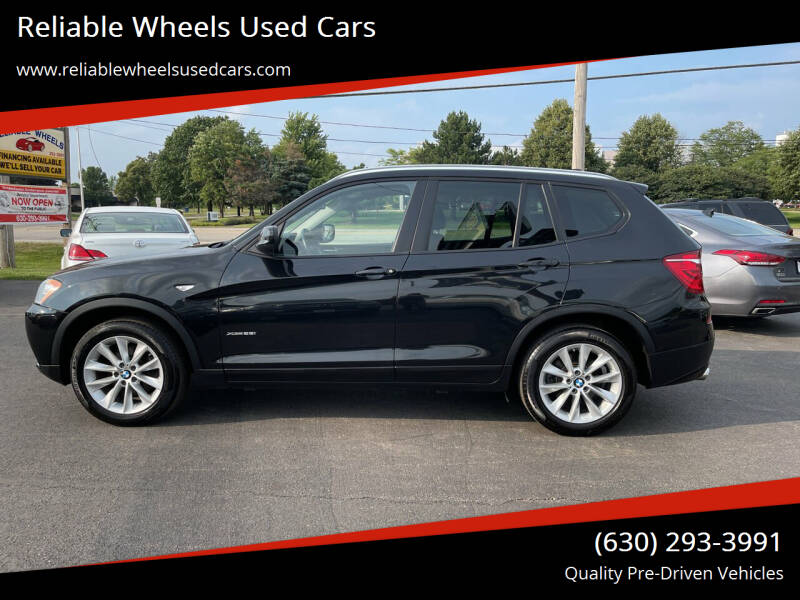 2014 BMW X3 for sale at Reliable Wheels Used Cars in West Chicago IL
