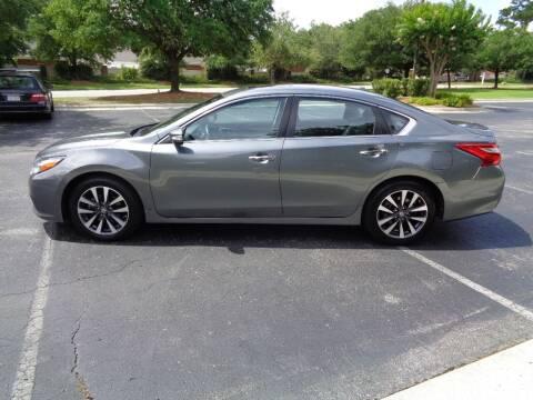 2017 Nissan Altima for sale at BALKCUM AUTO INC in Wilmington NC