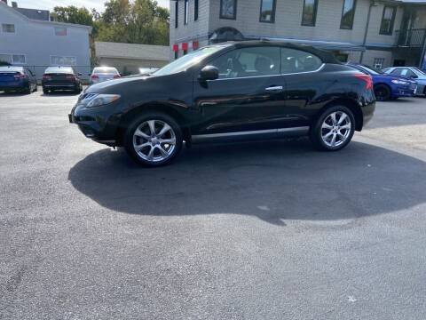 2014 Nissan Murano CrossCabriolet for sale at Sisson Pre-Owned in Uniontown PA
