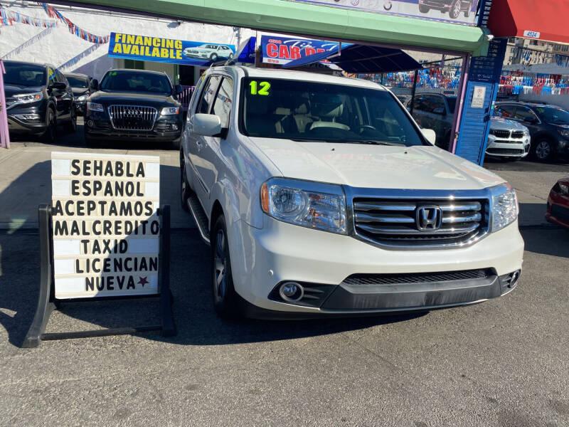 2012 Honda Pilot for sale at 4530 Tip Top Car Dealer Inc in Bronx NY