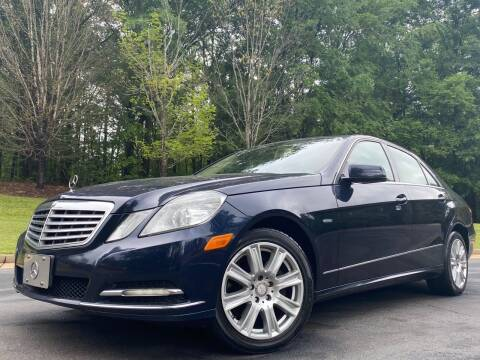 2012 Mercedes-Benz E-Class for sale at Top Notch Luxury Motors in Decatur GA