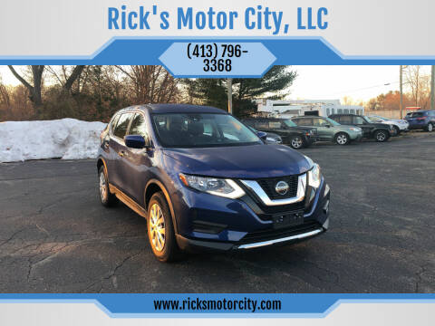 2019 Nissan Rogue for sale at Rick's Motor City, LLC in Springfield MA