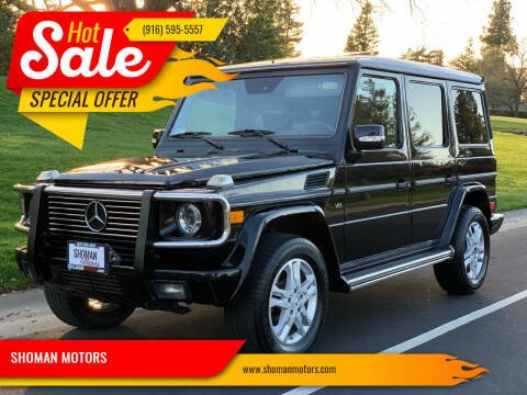 2004 Mercedes-Benz G-Class for sale at SHOMAN AUTO GROUP in Davis CA