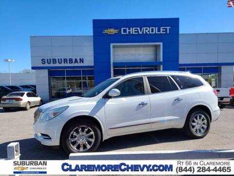 2017 Buick Enclave for sale at Suburban Chevrolet in Claremore OK