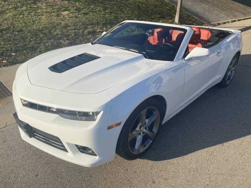2014 Chevrolet Camaro for sale at Apple Auto in La Crescent MN