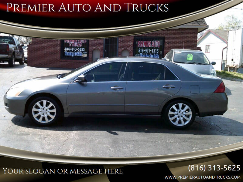 2006 Honda Accord for sale at Premier Auto And Trucks in Independence MO