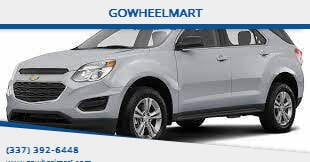 2017 Chevrolet Equinox for sale at GOWHEELMART in Leesville LA
