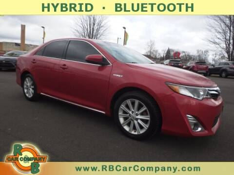 2013 Toyota Camry Hybrid for sale at R & B Car Company in South Bend IN