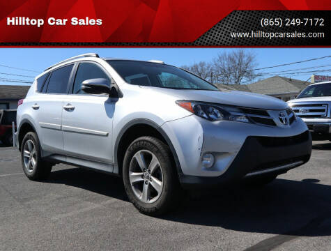 2015 Toyota RAV4 for sale at Hilltop Car Sales in Knox TN
