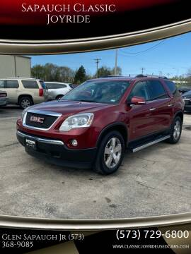 2010 GMC Acadia for sale at Sapaugh Classic Joyride in Salem MO