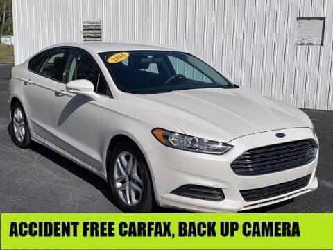 2015 Ford Fusion for sale at Urka Auto Center in Ludington MI