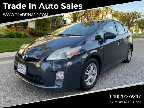 2010 Toyota Prius for sale at Trade In Auto Sales in Van Nuys CA