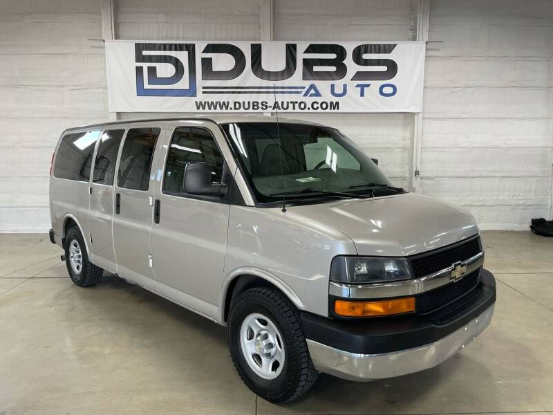 2008 Chevrolet Express Passenger for sale at DUBS AUTO LLC in Clearfield UT