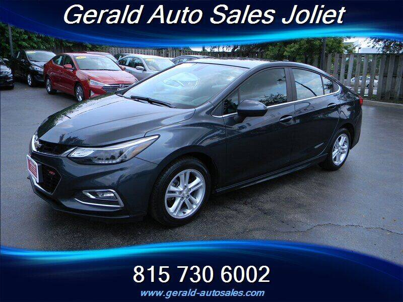 2017 Chevrolet Cruze for sale at Gerald Auto Sales in Joliet IL