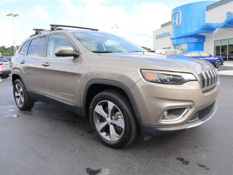 2019 Jeep Cherokee for sale at RUSTY WALLACE HONDA in Knoxville TN