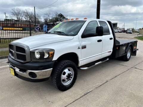 2008 Dodge Ram Chassis 3500 for sale at SARCO ENTERPRISE inc in Houston TX
