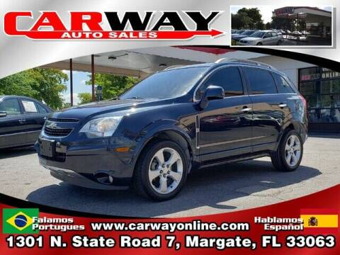 2014 Chevrolet Captiva Sport for sale at CARWAY Auto Sales in Margate FL