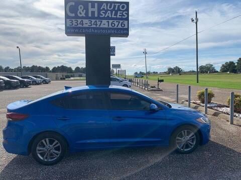 2017 Hyundai Elantra for sale at C & H AUTO SALES WITH RICARDO ZAMORA in Daleville AL