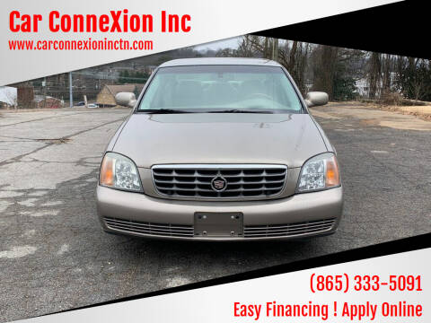 2002 Cadillac DeVille for sale at Car ConneXion Inc in Knoxville TN