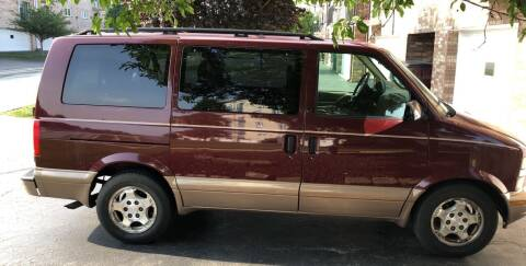 2004 Chevrolet Astro for sale at Cargo Vans of Chicago LLC in Mokena IL