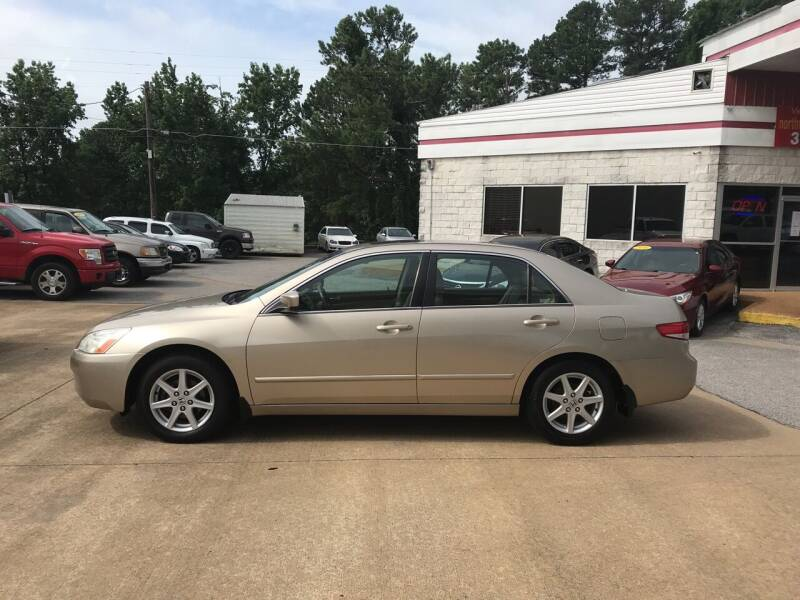 2003 Honda Accord for sale at Northwood Auto Sales in Northport AL