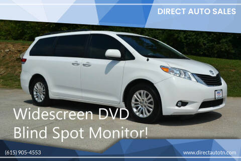 2013 Toyota Sienna for sale at Direct Auto Sales in Franklin TN